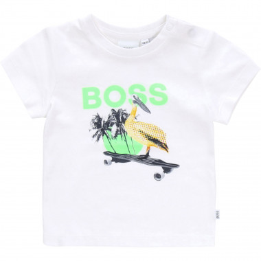 Pelican-printed T-shirt BOSS for BOY