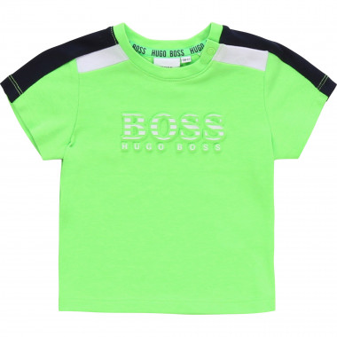 T-shirt with embossed print BOSS for BOY