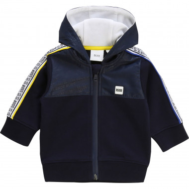 Zipped hooded sweatshirt BOSS for BOY