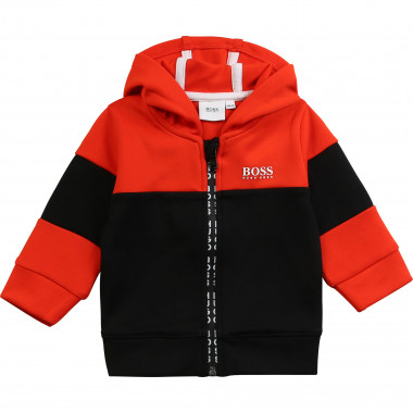 Two-tone jogging jacket BOSS for BOY