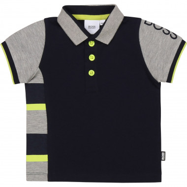 Striped polo shirt BOSS for BOY