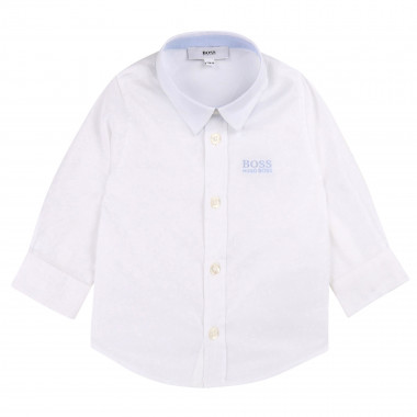 Long-sleeved cotton shirt BOSS for BOY
