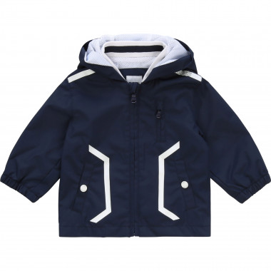 Water-resistant windbreaker BOSS for BOY