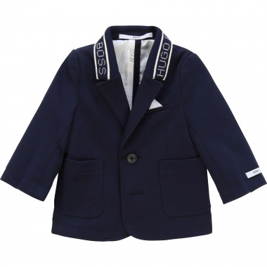 Jacquard-collar suit jacket BOSS for BOY