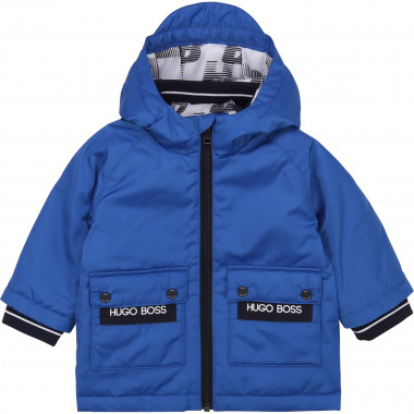 Hooded waterproof windbreaker BOSS for BOY