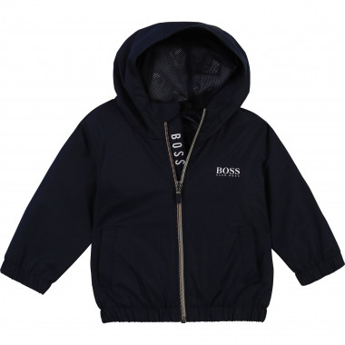 Polyester hooded jacket BOSS for BOY
