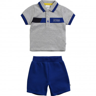 Polo and Bermuda shorts set BOSS for BOY