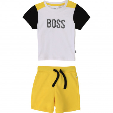 T-shirt and Bermuda shorts set BOSS for BOY