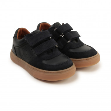 Low-top leather trainers BOSS for BOY
