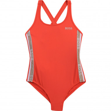 One-piece bathing suit BOSS for GIRL