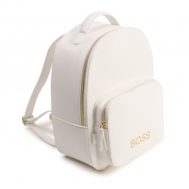 Textured faux leather rucksack BOSS for GIRL