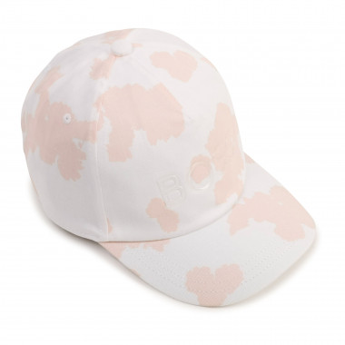 Cotton twill cap BOSS for GIRL