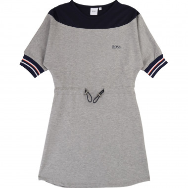 Milano knit dress with logo BOSS for GIRL