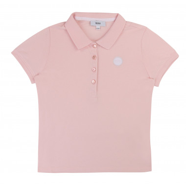 SHORT SLEEVE POLO BOSS for GIRL