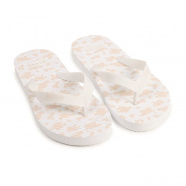 Flip-flops with printed sole BOSS for GIRL