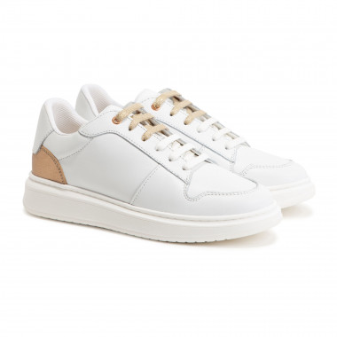 Leather low-top trainers BOSS for GIRL