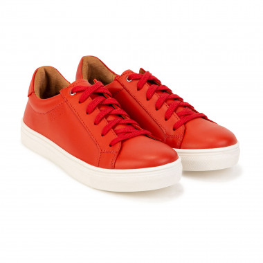 Low-top leather trainers BOSS for GIRL