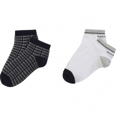 Pack of 2 pairs of ankle socks BOSS for BOY