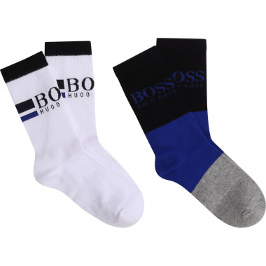 2-pair pack of coloured socks BOSS for BOY