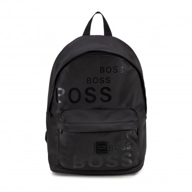 Printed rucksack with straps BOSS for BOY