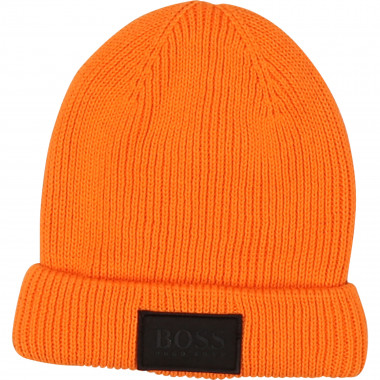 Double layer cotton hat BOSS for BOY
