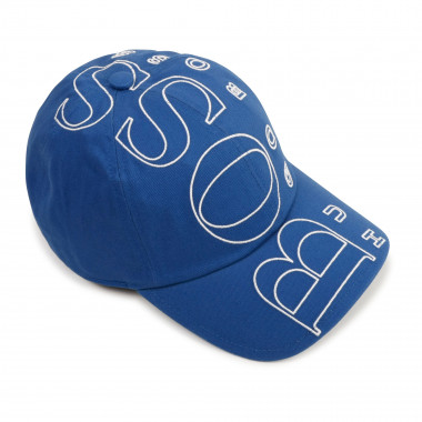 Cotton twill baseball cap BOSS for BOY
