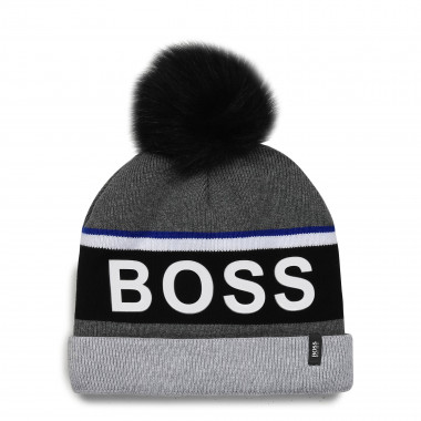 Lined cotton cap BOSS for BOY