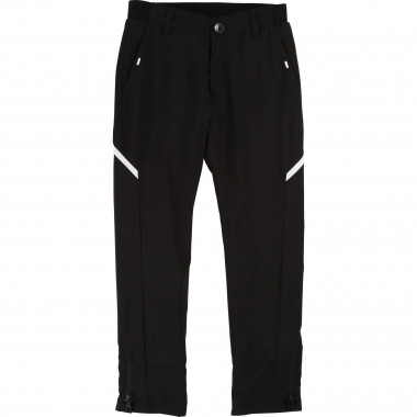 Chino trousers with zip detail BOSS for BOY