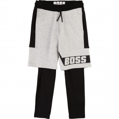 2-in-1 jersey trousers BOSS for BOY