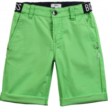 Novelty cotton Bermuda shorts BOSS for BOY