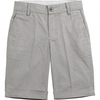 Striped formal Bermuda shorts BOSS for BOY