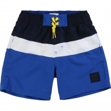 Tri-colour striped surf shorts BOSS for BOY