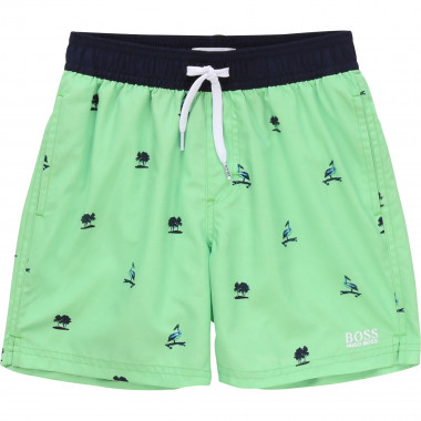 Printed quick dry board shorts BOSS for BOY