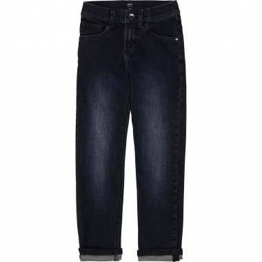 Stretch brushed denim jeans BOSS for BOY
