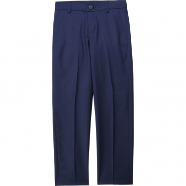 Wool suit trousers BOSS for BOY