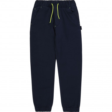 Cotton serge trousers BOSS for BOY