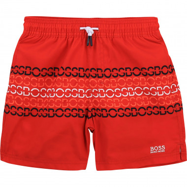 Quick-dry printed board shorts BOSS for BOY