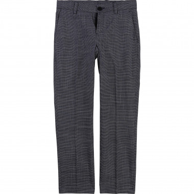 Cotton suit trousers BOSS for BOY