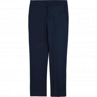 Twill suit trousers BOSS for BOY