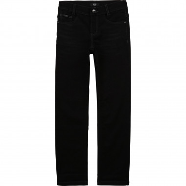 Slim jeans with technical logo BOSS for BOY