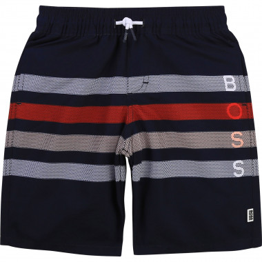 Striped bathing trunks BOSS for BOY