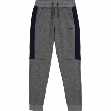 Cotton jogging trousers BOSS for BOY