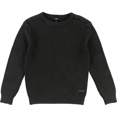 Thick knitted jumper BOSS for BOY