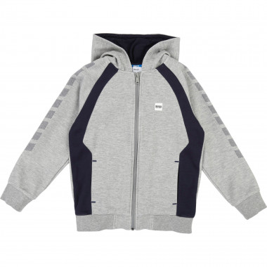 HOODED CARDIGAN BOSS for BOY