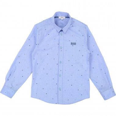 LONG SLEEVED DENIM SHIRT BOSS for BOY
