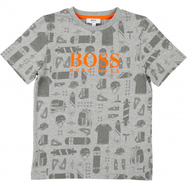 SHORT SLEEVES TEE-SHIRT BOSS for BOY