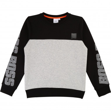 Jersey logo sweatshirt BOSS for BOY