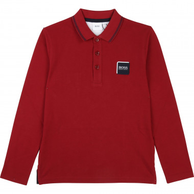 LONG SLEEVE POLO BOSS for BOY