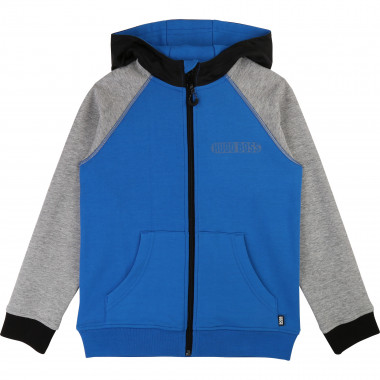 Tri-colour hooded jumper BOSS for BOY