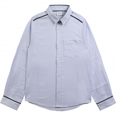 Checked slim-fit shirt BOSS for BOY
